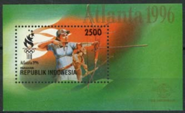 Indonesie, zbl. blok 126, xx
