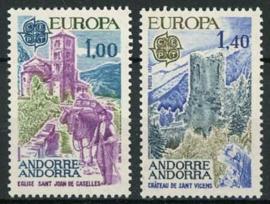 Andorra Fr., michel 282/83, xx