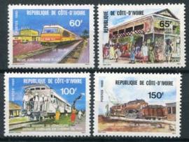 Ivoorkust, michel 642/45, xx