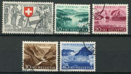 Zwitserland, michel 570/74,o