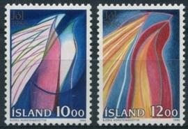 Ysland, michel 661/62, xx