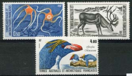 Antarctica Fr., michel 220/22, xx