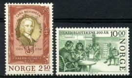 Noorwegen, michel 934/35, xx