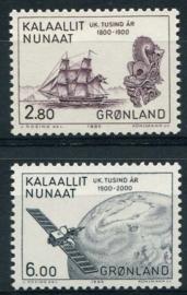 Groenland, michel 157/58, xx