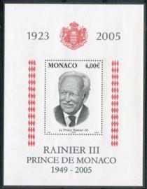 Monaco, michel blok 90, xx