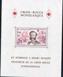 Monaco , michel blok 13 , xx