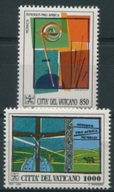 Vatikaan, michel 1116/17, xx