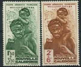 N.Caledonie, michel 286/87, xx