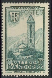 Andorra Fr., michel 36, x
