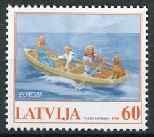 Letland, michel 613, xx