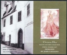 Gibraltar , michel blok 30 , xx