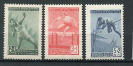 Joegoslavie, michel 557/59, xx
