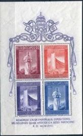 Vaticaan, michel blok 2, xx