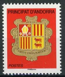 Andorra Fr., michel 722, xx