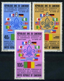 Cameroun, michel 738/40, xx