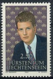 Liechtenstein, michel 1053, xx