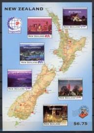 N.Zeeland, michel blok 52, xx