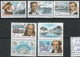Antarctica Fr., michel 433/37, xx