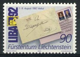 Liechtenstein, michel 1026, xx