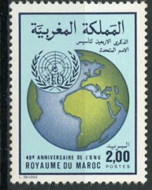 Marokko, michel 1079, xx