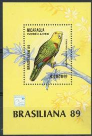 Nicaragua, michel blok 184, xx