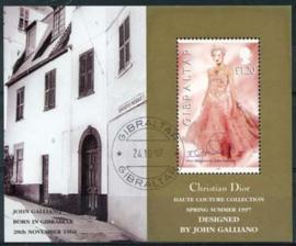 Gibraltar, michel blok 30, o