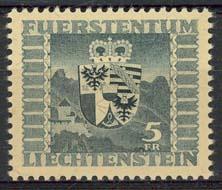 Liechtenstein, michel 243, xx