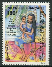 Polynesie, michel 654, xx