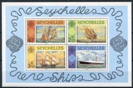 Seychelles, michel blok 16, xx