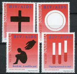 Namibie, michel 1093/96, xx