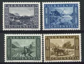 Liechtenstein, michel 218/21, xx