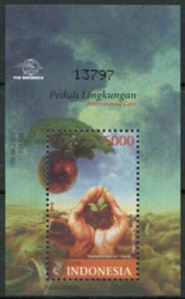 Indonesie, zbl. blok 282, xx