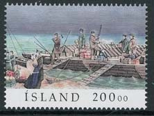 IJsland, michel 962, xx