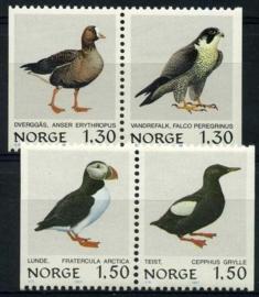 Noorwegen, michel 827/30, xx