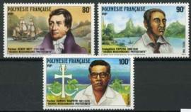 Polynesie, michel 518/20, xx