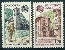 Andorra Fr. , michel 297/98, xx