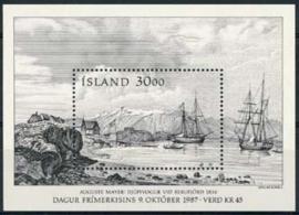 IJsland, michel blok 8, xx