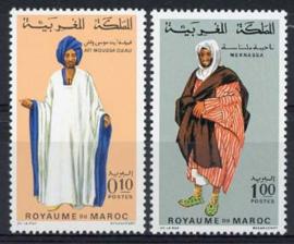 Marokko, michel 661/62, xx