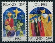 Ysland, michel 712/13, xx