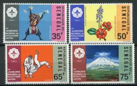 Senegal, michel 465/68, xx