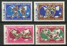 Mauretanie, michel 392/95, xx