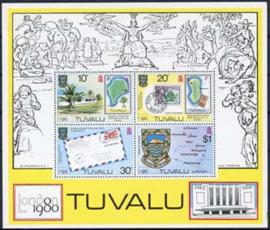 Tuvalu, michel blok 4, xx