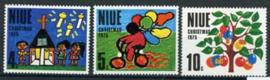 Niue , michel 151/53, xx