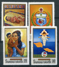 Samoa, michel 226/29, xx