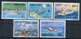 Samoa, michel 314/18, xx