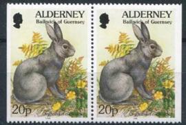Alderney, michel 76 dl/dr, xx