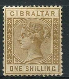 Gibraltar , michel 14 , x