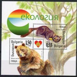 Bulgarije, michel blok 282, xx