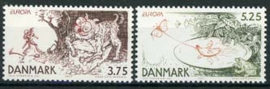 Denemarken, michel 1162/63, xx