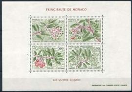 Monaco , michel blok 34, xx